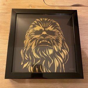 Star Wars Chewbacca Shadowbox Wall Art